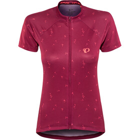 PEARL iZUMi Select Escape Graphic Shortsleeve Jersey Women beet red wish